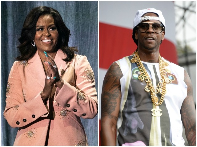 2 Chainz and Michelle Obama Educate Former Inmates on Voting Rights